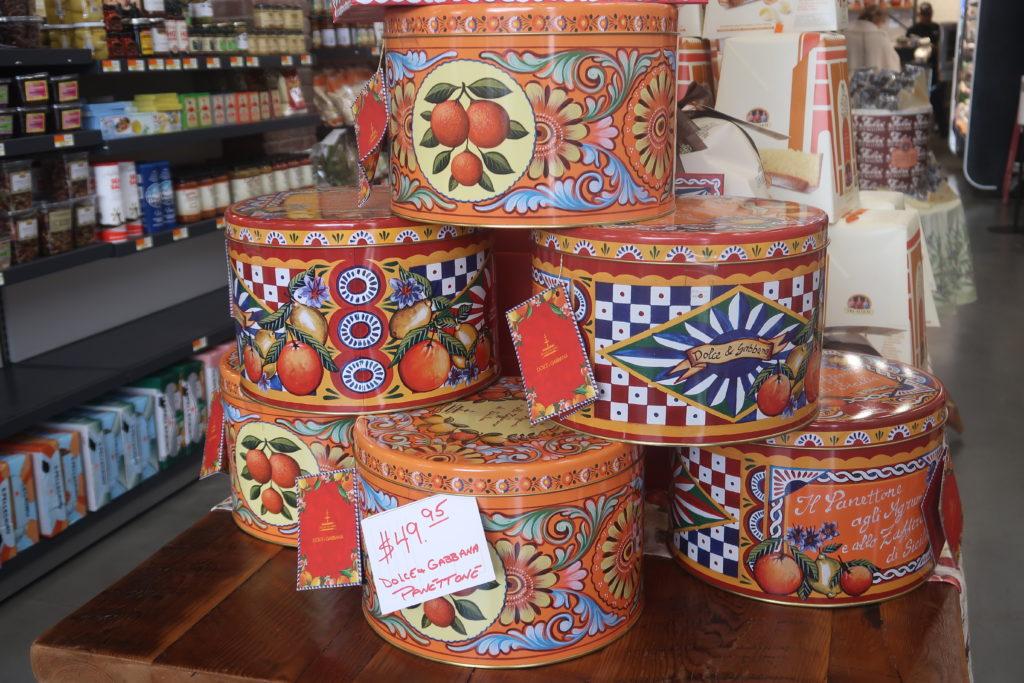 Panettone at Sansone Market
