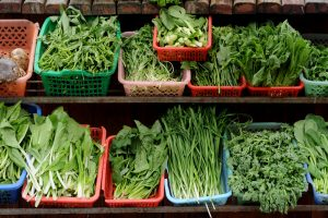 fresh seasonal greens for italian dishes